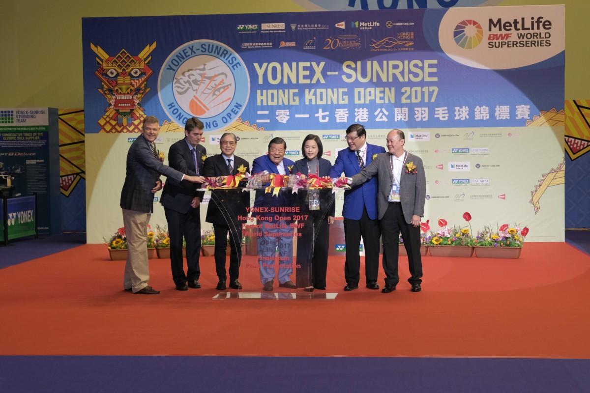 YONEX-SUNRISE Hong Kong Open 2017 part of the MetLife BWF World Superseries