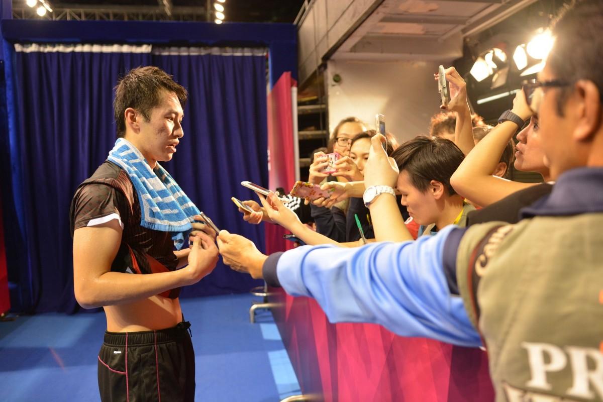 Underdog Ng Ka Long Angus Stopped Lin Dan s Way to Top 8 in Hong