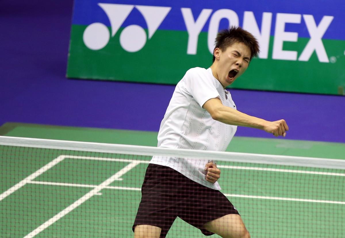 LEE Cheuk Yiu Upsets World No 7 TIAN Houwei in Men s Singles First